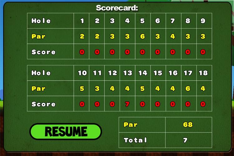Trick Shot Golf Lite screenshot-4