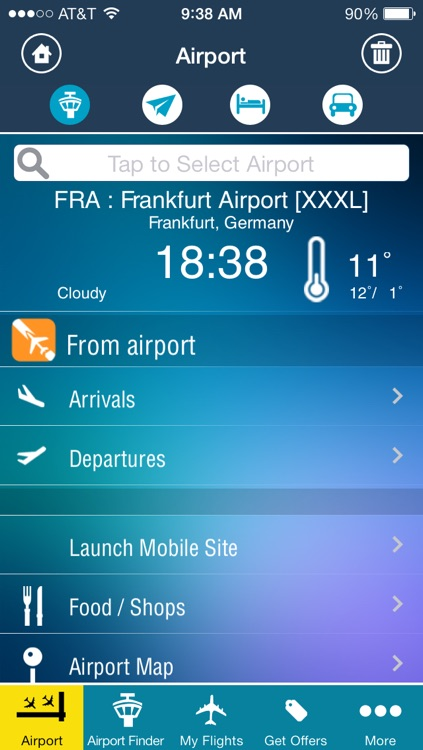 Frankfurt Airport - Flight Tracker FRA screenshot-1