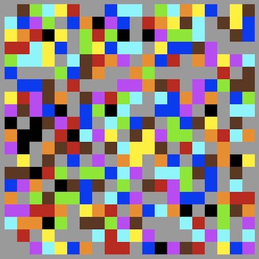 ChromoFill L Free Color Crosswords