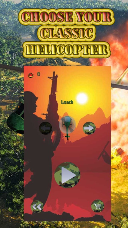 Apocalypse Helicopter Attack - Destroy the Enemy Village Combat
