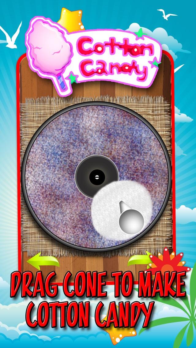 空の綿菓子の創作者 - 子供のための料理ゲームのスクリーンショット3