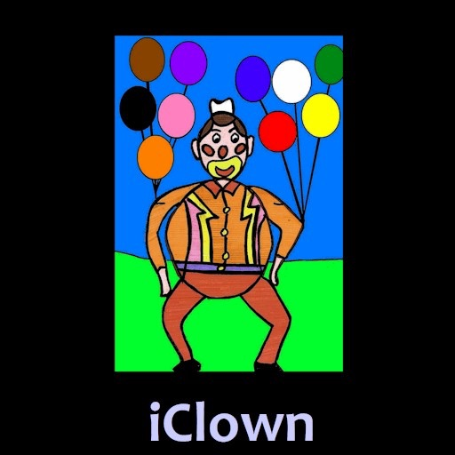 IClown Learn Colors in French