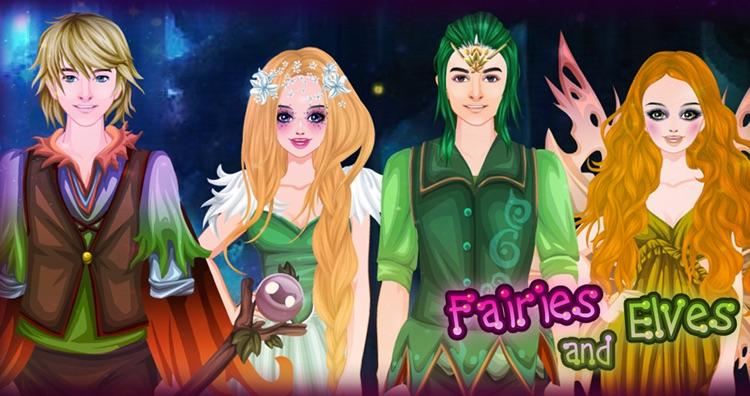 Fairies and Elves dress up screenshot-3