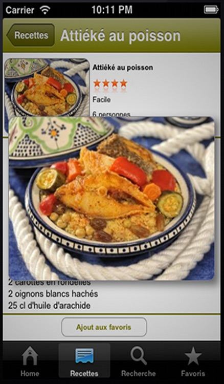Cuisine Africaine screenshot-3