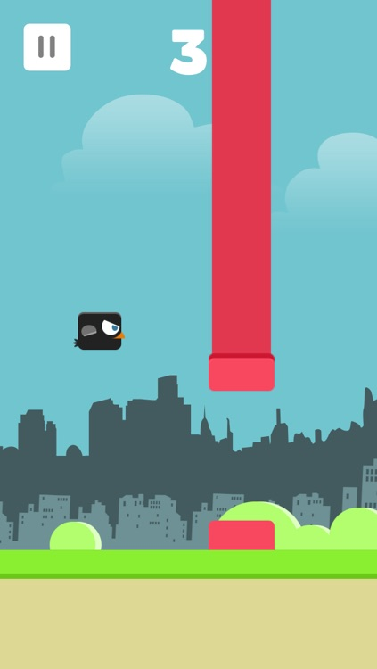 Jumpy Crow - The Hardest Flappy Game Ever