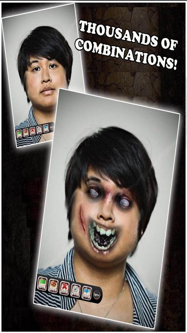 Zombie Booth - Transform Into A Zombie screenshot three