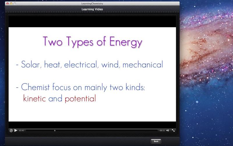 Learning Chemistry screenshot 2