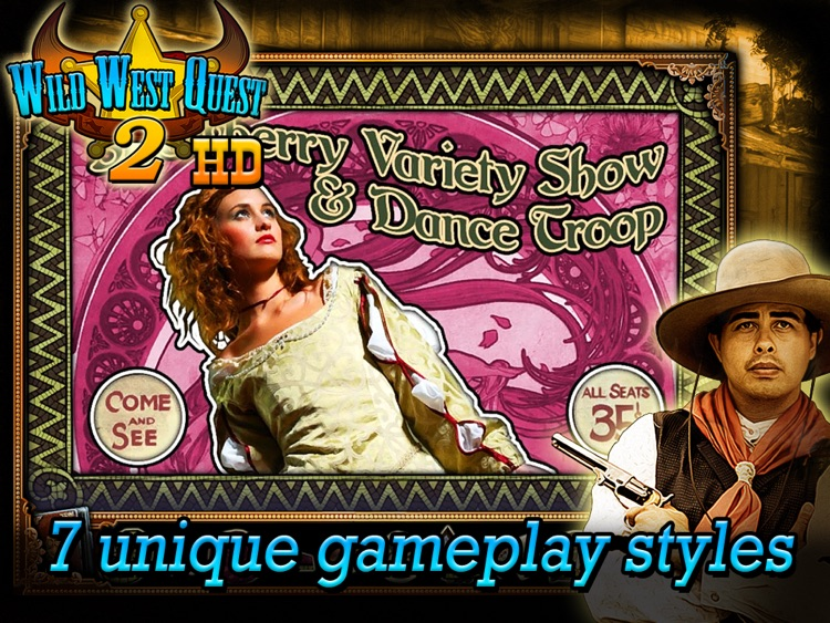 Wild West Quest 2 HD screenshot-3