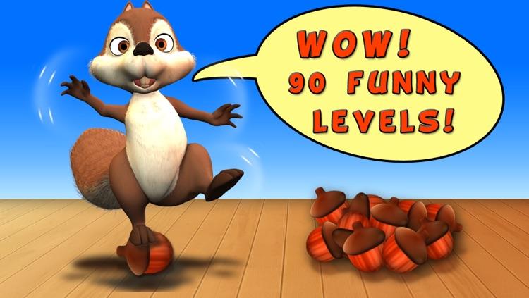 Nut Flow - Funny Squirrel Feed screenshot-4