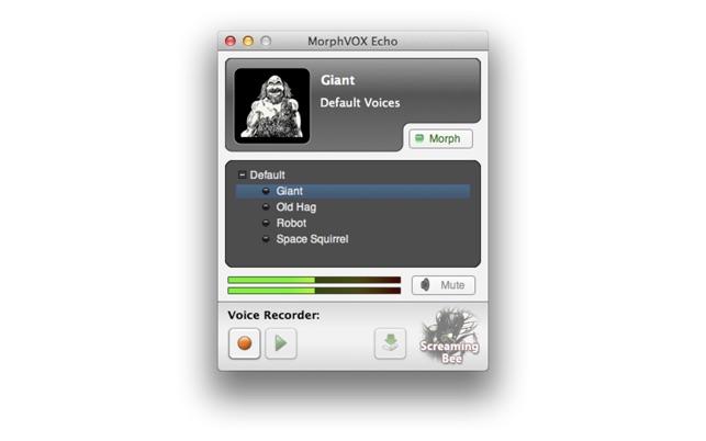 MorphVOX Echo on the Mac App Store