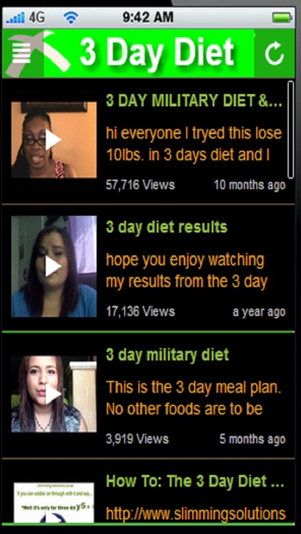 3 Day Diet Plan:Short Diet Plan where you can lose up to 10 pounds in 1 week+