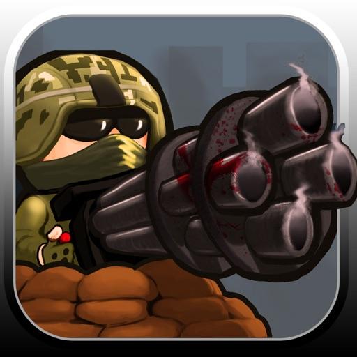Mini Gun vs Zombies 3D iOS App