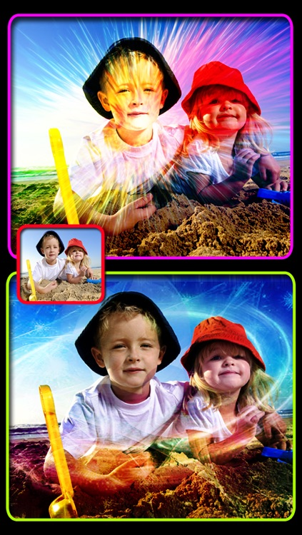 Insta Galaxy Effects - Free space and light leak effects for your images