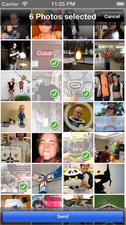 Bluetooth Photo Share screenshot-3