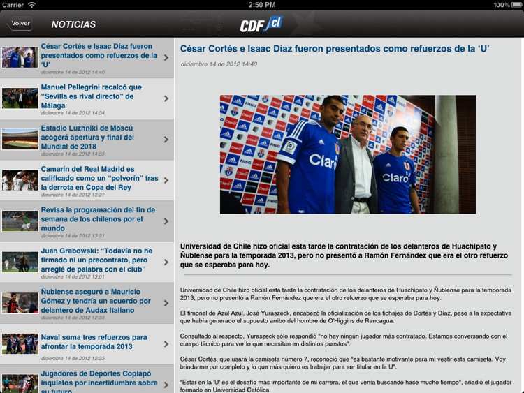 CDF Chile para iPad screenshot-3