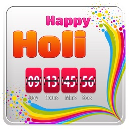 Holi Countdown-Festival of Colours