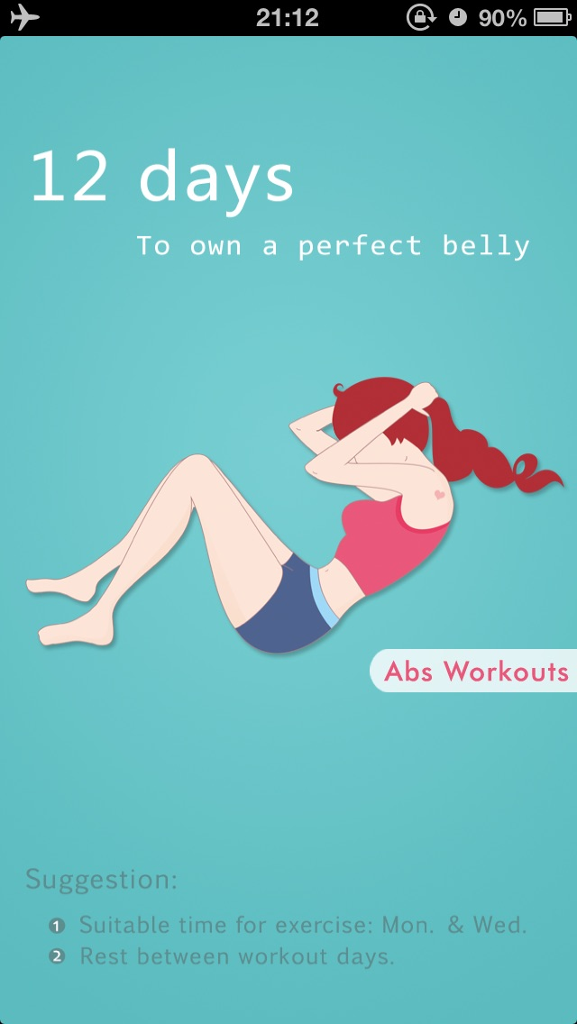 Abs Workouts - Getting A Perfect Belly in 12 Days-0