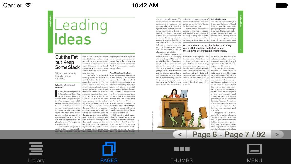 strategy+business magazine Screenshot