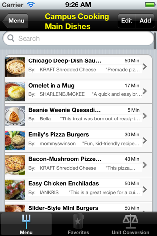 Dinner Recipes. screenshot two