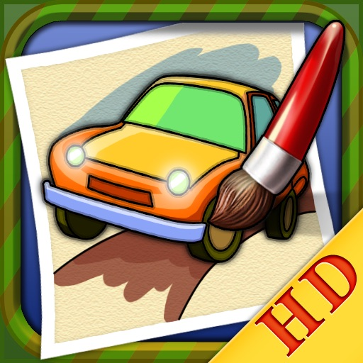 Coloring Book - Car HD