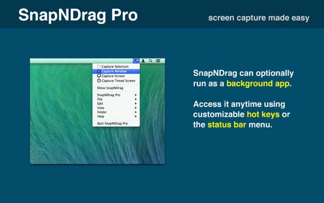 ‎SnapNDrag Pro Screenshot Screenshot