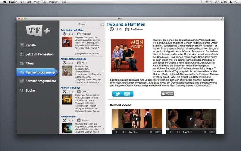 Das TV скриншот программы 1