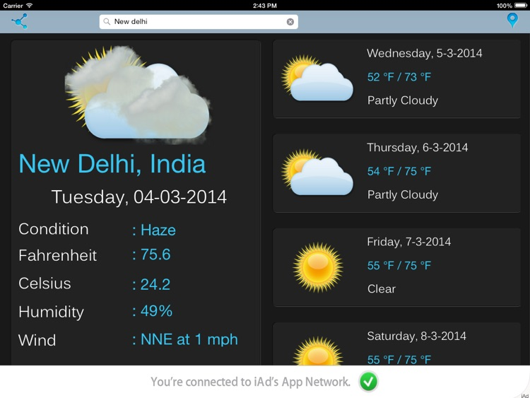 Weather Forecast screenshot-3