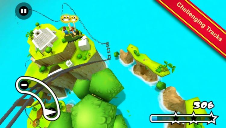 Jurassic 3D Rollercoaster Rush screenshot-3