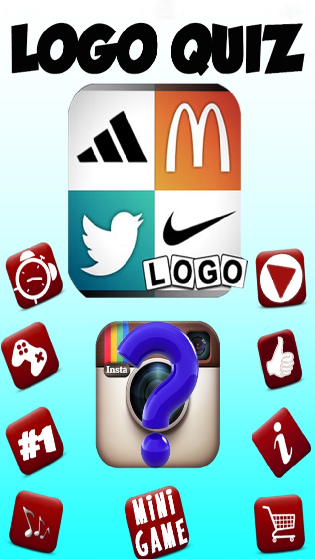 Guess hi Logo Quiz Fun & what's the pop brand food icon and logos pic in this word quiz game? Screenshot