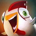 Kampfkunst-Ninja-Hühnchen-Samurai Kung POW icon
