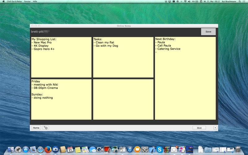 Online Notes screenshot 1
