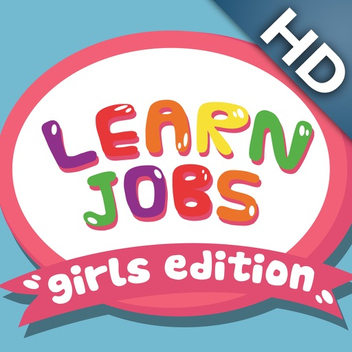 ABC Baby Jobs with Girls Full Edition - 3 in 1 Game for Preschool Kids - Learn Names of Professions and Occupations