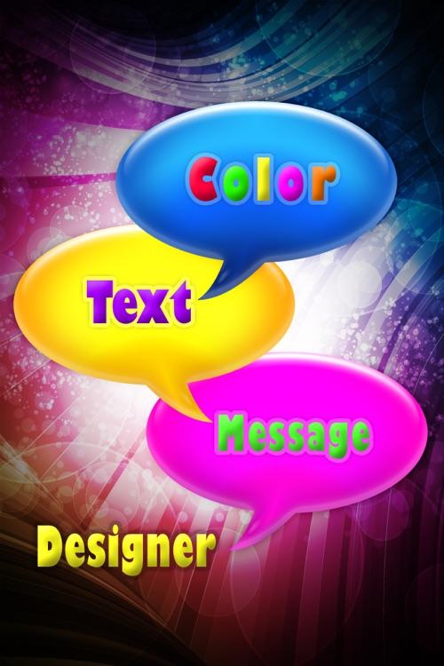 Color Text Message Designer Lite