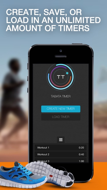 Tabata Timer: Tabata for Cycling, Running, Swimming, and Bootcamp Workouts screenshot-1