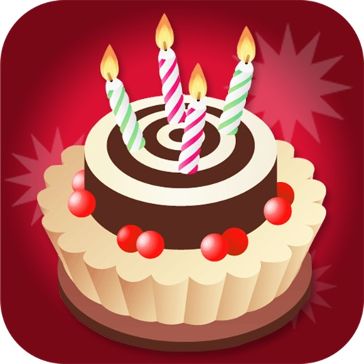 Birthday Card Maker Pro - Wish happy birthday with best photo greeting ecard and sms message icon