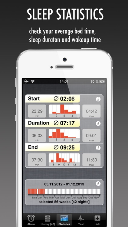 WakeApp Pro - Scientific Alarm Clock & Sleep Recorder screenshot-3