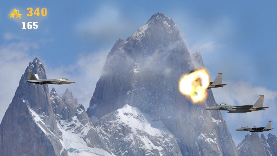 A Dogfight Combat Shooter - Modern Jet Fighter Game HD Free Screenshot