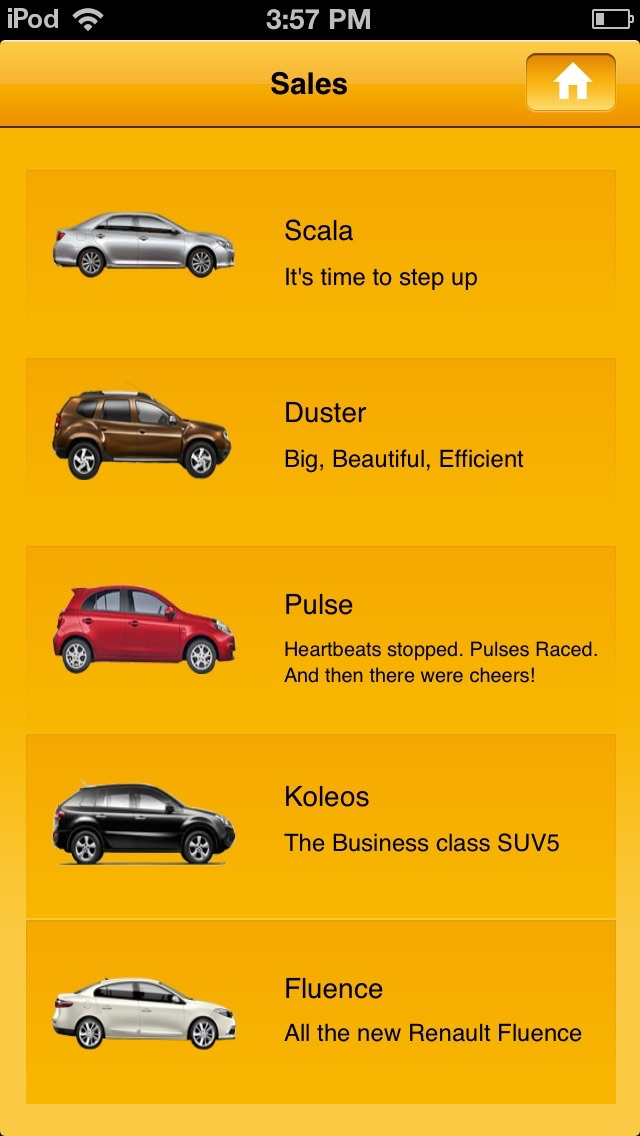 Renault Karnavati screenshot two