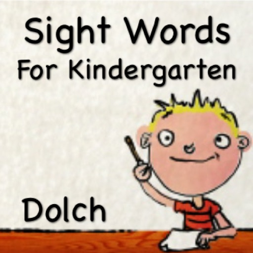 Sight Words For Kindergarten - Talking Flash Cards