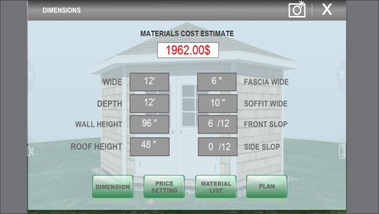 Design Shed Garage 3D screenshot-4