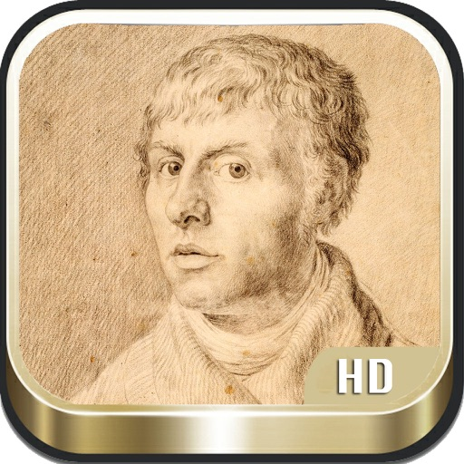 Caspar David Friedrich icon