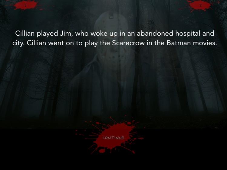 Horror Movie Nightmares Trivia HD screenshot-3