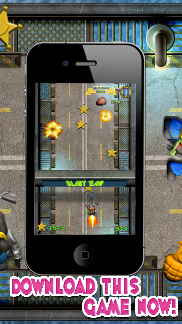 Zombie Motorcycle Reckless Escape : Can you Survive the Gangster Bike Race Highway Riots - FREE Challenge! screenshot one