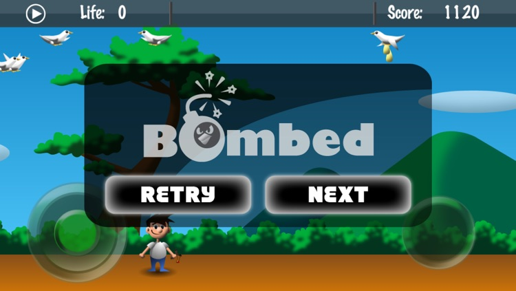 Bomber Dove Lite screenshot-2