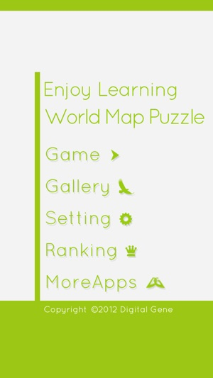 Enjoy learning world map puzzle on the app store enjoy learning world map puzzle on the app store gumiabroncs Image collections