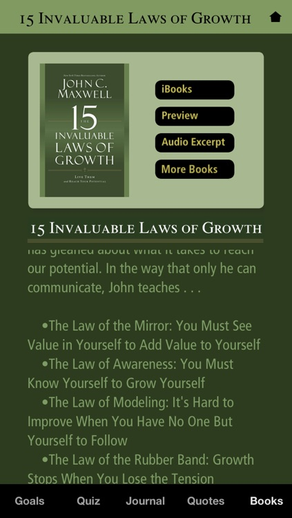 John C. Maxwell's The 15 Invaluable Laws of Growth screenshot-4