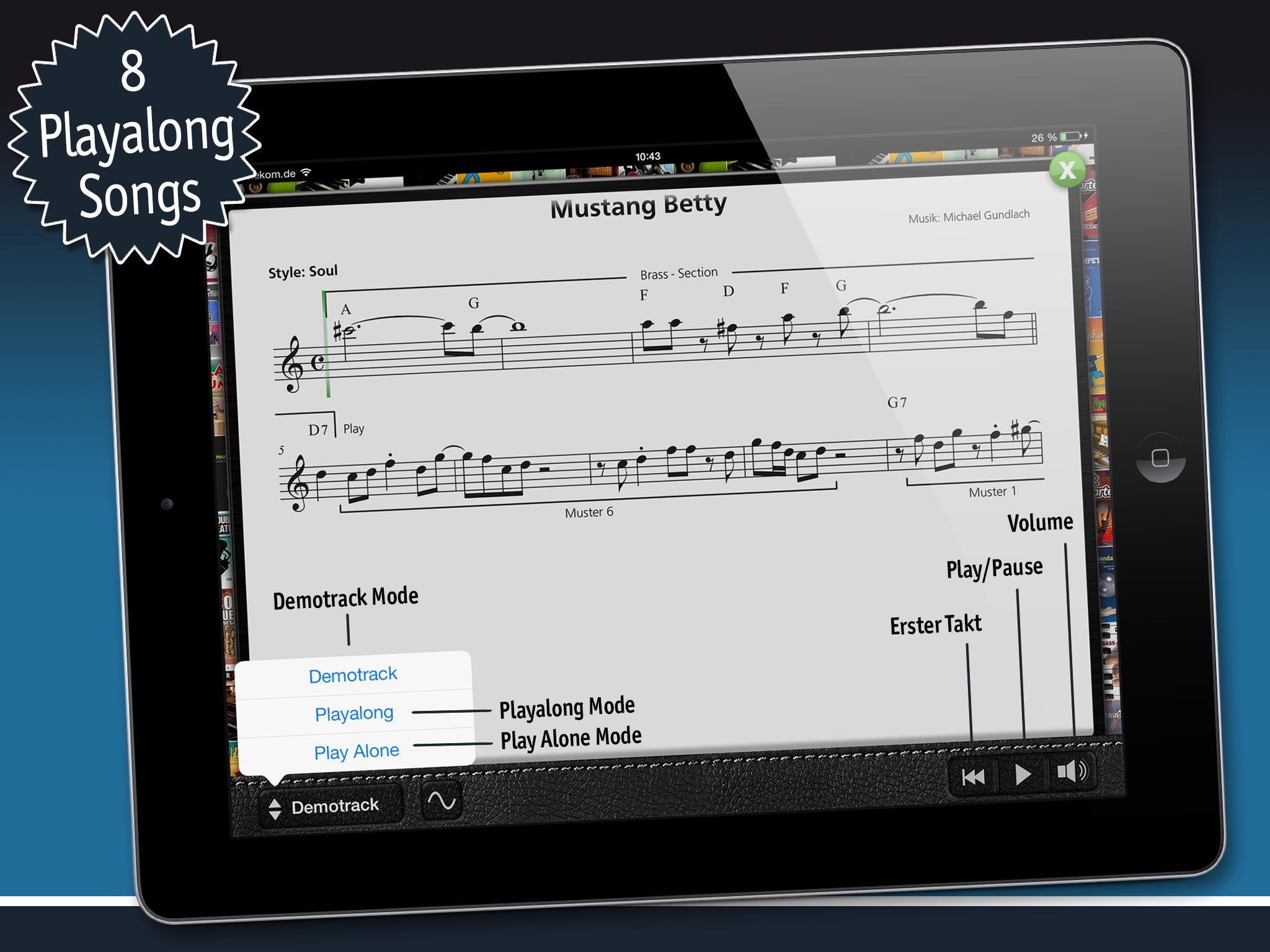 Blues SAX 1 Screenshot