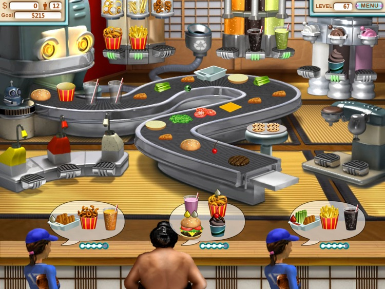Burger Shop HD Deluxe screenshot-3