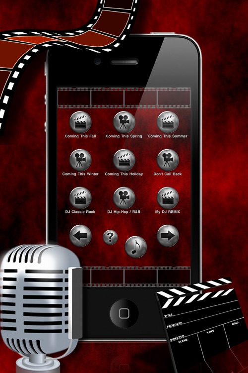 Custom Ringtones by the official: Movie Trailer Voice-Over Guy (FREE)
