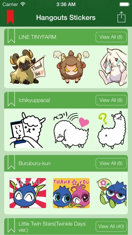 Hangouts Sticker - Sticker & Emoji & Emoticon & Chat Icon for Google Hangouts